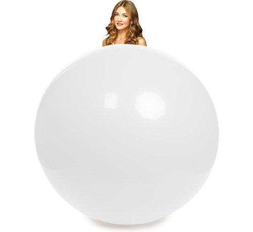 10 Witte mega ballonnen
