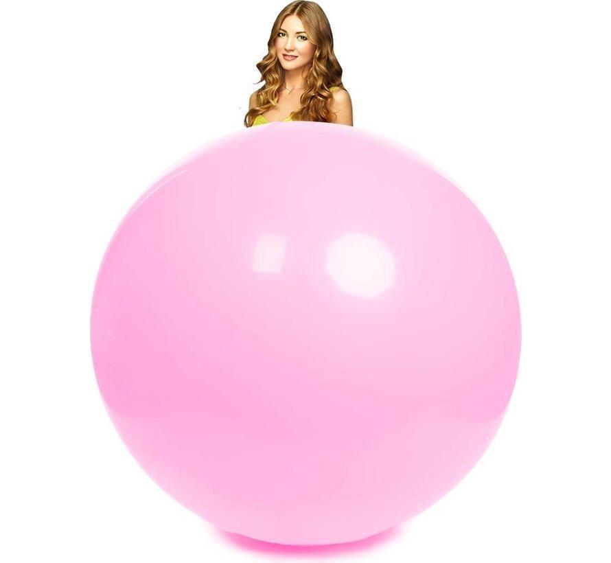 10 baby roze mega ballonnen