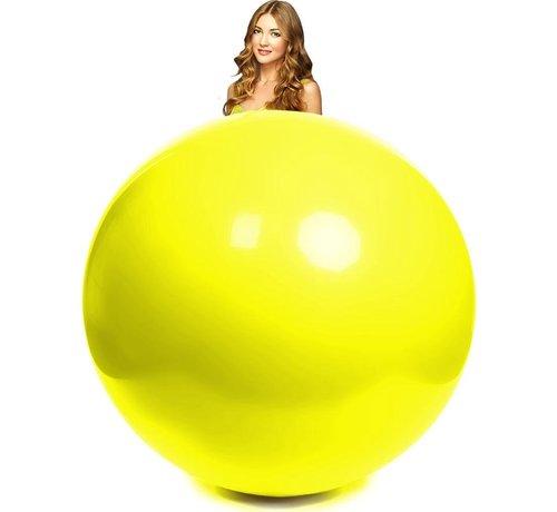 10 Gele mega ballonnen