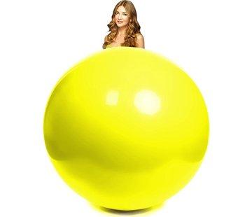 Gele reuze ballon