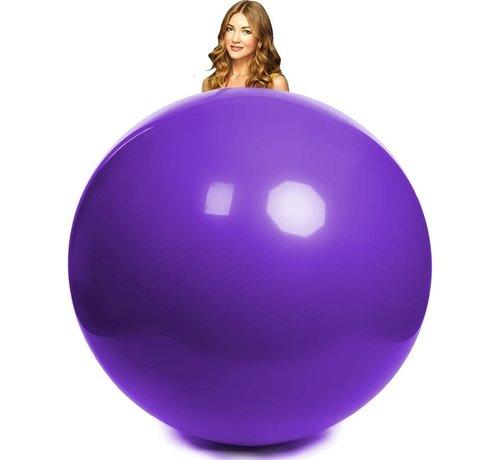 paarse reuze ballon 180 centimeter doorsnee
