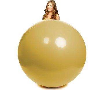 goudkleurige reuze ballon