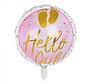 Helium Folieballon 'Hello Girl!