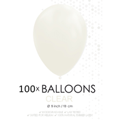 5 inch ballonnen doorzichtig