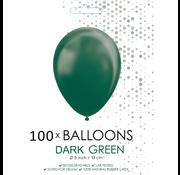 5 inch ballonnen donkergroen