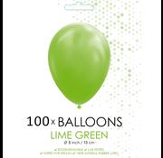 5 inch ballonnen lime groen