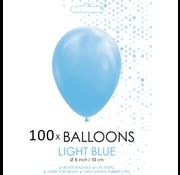 5 inch ballonnen lichtblauw