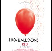 5 inch ballonnen rood