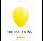 5 inch ballonnen geel 100 stuks