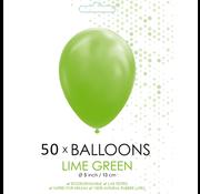 Ballonnen lime groen 5 inch