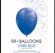 Ballonnen donkerblauw 5 inch