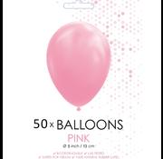Ballonnen roze 5 inch