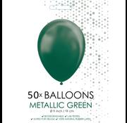 Metallic groen ballonnen klein