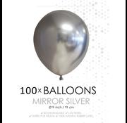 Kleine ballonnen zilver
