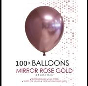Kleine ballonnen  roségoud