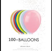 100 ballonnen mix