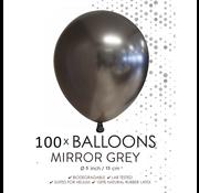 Kleine ballonnen grijs