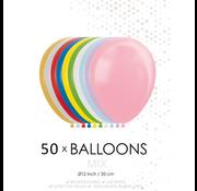 50 ballonnen mix
