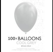 100 ballonnen grijs