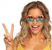 Partybrillen Hippie