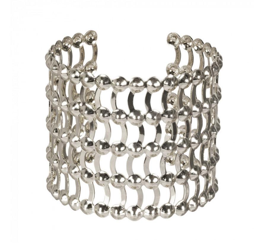 Armband Grace zilverkleurig