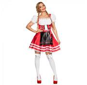 Tiroler jurkje rood