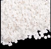 Witte  glitter confetti