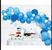 Ballonnen Slinger baby blauw