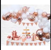 Ballonnen Slinger rosé goudkleurig