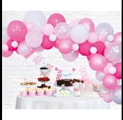 Ballonnen Slinger baby roze