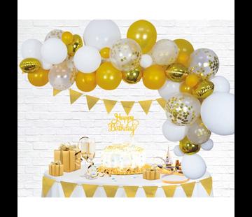 Ballonnen Slinger goudkleurig