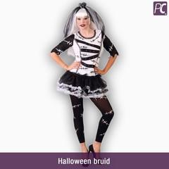 Halloween bruid