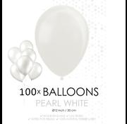 Parel witte ballonnen