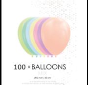 Macaron pastel ballonnen