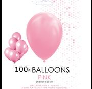 100 ballonnen roze