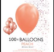 100 ballonnen perzik