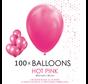 100 ballonnen donker roze 12 inch
