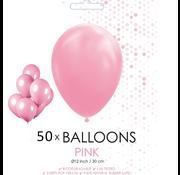 50 ballonnen roze