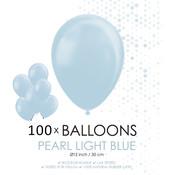 Parel lichtblauwe ballonnen