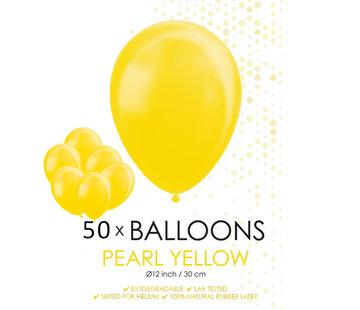 Parel gele ballonnen