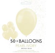 Pearl ivoor ballonnen