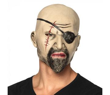 latex masker piraat