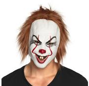 Killer clown hoofdmasker