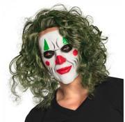 Latex hoofdmasker Schurk