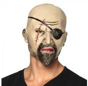 Hoofdmasker Piraat latex