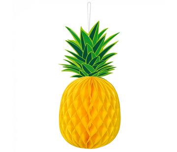 Honingraatdecoratie Ananas