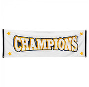 Polyester banner 'Champions'