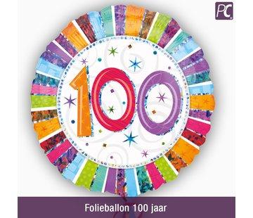 Folieballon 100 jaar