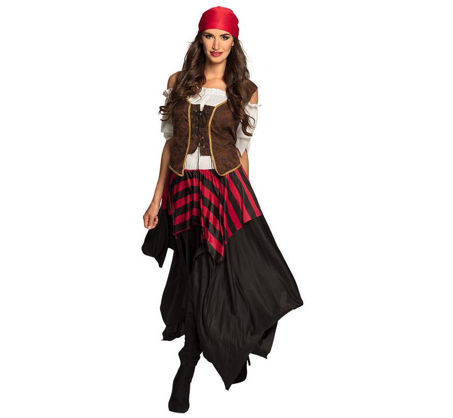 Goedkoop Piratenpak dames carnaval