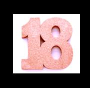 Tafeldecoratie verjaardag 18